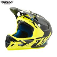 Fly 2017 Bike Werx Ultra Adult Helmet (Black/Hi-Vis)